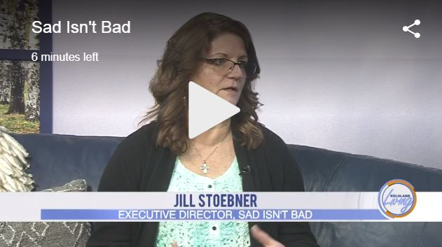 Sad Isn't Bad Featured on Keloland Living